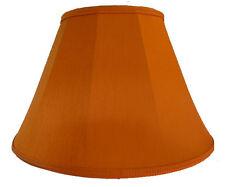 Burnt Orange Fabric Lamp shades Table Ceiling Light Standard Floor Lampshades