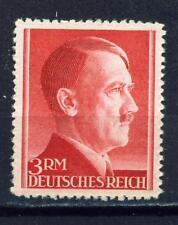 Germany WW2 Hitler's Birthday 1942 stamp 3 Reich Marks MLH