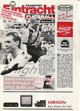 BL 89/90 Eintracht Frankfurt - 1. FC Nürnberg