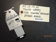 07 08 09 10 TOYOTA CAMRY TIRE PRESSURE MONITOR #89760-06012 *see description*