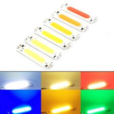 6Farbe COB Streifen LED Quelle 2Watt DC12V Licht Modul Flip Chip Birne 60*15mmWH