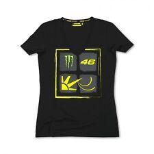VR46 t-shirt sun moon femme monster energy valentino rossi 2014 t shirt