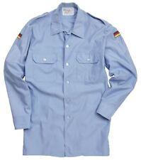 Genuine Issued Surplus Light Blue German Naval Working Long Sleeve Shirt