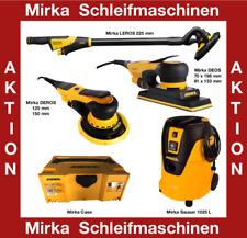Mirka Deros Deos Leros Schleifmaschine Sauger Schwingschleifer - freie Auswahl