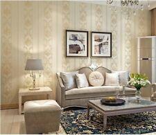 European Style  Environmental Protection 3D Non-woven Bedroom Wallpaper5.3㎡