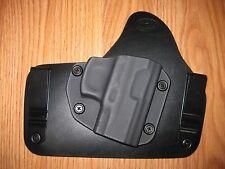 Taurus IWB Kydex/Leather Hybrid Holster with adjustable retention