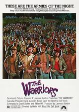 Les guerriers Poster Rétro Classique Film Wall Art Imprimé Photo Affiche A4 A3
