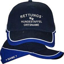 Rettungshunde Mantrailing Hundeschule Basecap Kappe Mütze Hut Hunde Training 2