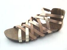 Blowfish Malibu Women's Summer Strappy Sandals Rose Gold Size 8 8.5 9.5 New