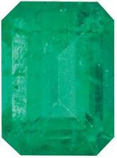 Natural Fine Green Emerald - Emerald Cut - Brazil - Select Grade