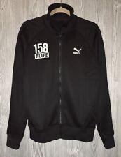 PUMA Alife Soccer Black Grey Full Zip L/S Track Jacket T7 NEW Mens Sz M XL