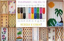 Tenda Moschiera a fili pvc, Puzzle kit fai da te, Asta alluminio, MADE IN ITALY