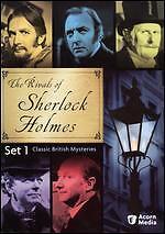 The Rivals of Sherlock Holmes - Set 1 (DVD, 2009, 4-Disc Set), Brand New