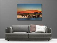 Quadro dipinti decocrazione in kit Mandria d'elefanti ref 47112058