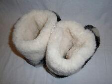 Super Warm Soft Comfy Home Slipper Boots 100% Wool Winter Footwear Womens Sizes