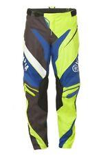 Yamaha Racing MX Pants Adults Green Blue Black Motocross Pants #A17-GP100-G1