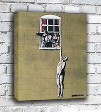 Banksy Canvas - Window
