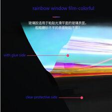 Rainbow Dichroic Window Film Iridescent Window Sticker Glass Decor Film