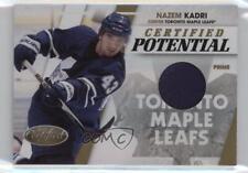 2010 Certified Potential Materials Prime Memorabilia #1 Nazem Kadri Hockey Card