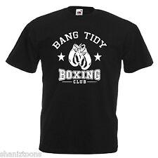 Bang ordenado Boxing Club Para Hombre T Shirt 12 Colores Talle S - 3xl