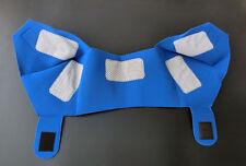 Blue Self Heating Shoulder Pads Tourmaline Magnetic Shoulder Pain Relieve Strap