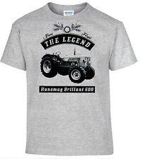 T-SHIRT,Hanomag brillante,Tractor,Tractor,Oldtimer