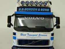 1:50 Scale White Window Decals, Scania, Volvo, Daf, Ireland, etc, Brand New