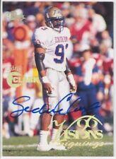 sedric clark rc rookie draft auto tulsa hurricane 1996