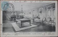 1903 PC: Pool / Billiard Table - Chateau de Rambouillet