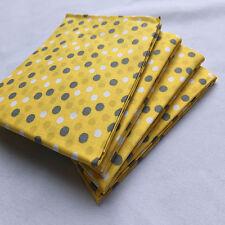 "Print Fabric ,Precuts Fat Quarter 18"" x 21"" (Multi Dot)100%COTTON FABRIC"