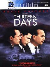 13 Days w/ Kevin Costner, Bruce Greenwood, Steven Culp on DVD Brand New