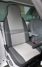 VOLKSWAGEN TRANSPORTER T4 2006 VAN DRIVERS SEAT COVER SHEEN GREY SEATING FABRIC