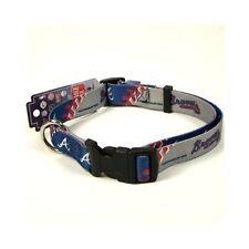 Atlanta Braves X- Large 26 - 32 Inch Dog Collar