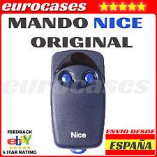MANDO EMISOR NICE FLOR FLO-R FLOR-S FLORS AZUL NEGRO 1 2 433 rolling DE GARAJE