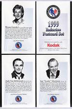 1999 HALL OF FAME INDUCTION POSTCARD SET WAYNE GRETZKY