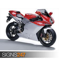 AGUSTA F4 RR 312 (1701) Motorbike Poster - Photo Poster Print Art * All Sizes