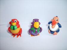 Lot de Figurines/Jouets KINDER FERRERO montables: OISEAUX