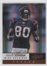 2012 Absolute #16 Andre Johnson Houston Texans Football Card