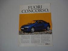 advertising Pubblicità 1995 OPEL TIGRA
