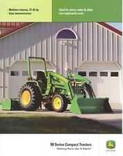 John Deere 90 Series Compact Tractors Sales Brochure