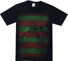 A Nightmare on Elm Street Freddy Kreuger Costume Reversible Mask Adult T-Shirt