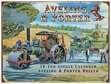vapeur TRACTION MOTEUR Aveling & Porter bille vintage WAGON petit métal /