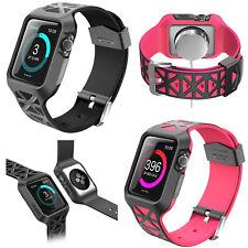 Apple Watch 3 Case, i-Blason Unity Premium Hybrid Protect Bumper iWatch 3 42 mm