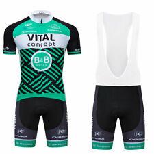 Men Bike Cycling Jersey Short Sleeve Shirt Bib Shorts Set Ropa Ciclismo Clothing