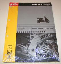 Ersatzteilkatalog Aprilia SR 50 H²O Carb. + IE ab 2000!
