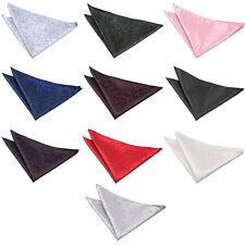 Men's Swirl Polyester Satin Handkerchief Special Occasion Wedding Groom