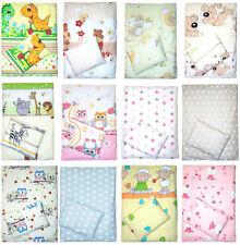4tlg Kinderwagenset Baby Bettwäsche für Kinderwagen Bezüge Decke Kissen