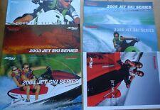 Genuine KAWASAKI JETSKI brochure série 2002-2007 livres brochures YAMAHA Seadoo