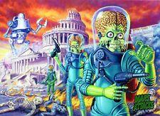 Mars Attack Invasion  &   Mars Attacks     Individual Trading Cards