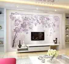 3D Purpurrote Blume 46545 Fototapeten Wandbild Fototapete BildTapete Familie DE